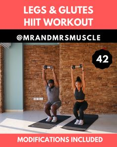 Pin, Share and Try this Legs and Booty Workout 10 minute only via our YT channel (see the link) Training for beginners Training plan Training video Training weightlifting Training women Training workout woman workout program Full Body Dumbbell Workout, Butt Workout, Sweat Workout, Hiit Workout Videos, Gym Workouts, Weight Loss, Lose Weight, Lose Fat, Sweat Fitness