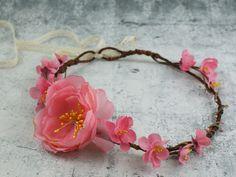 ♥ Bloemen diadeem ♥ van Lola White op DaWanda.com