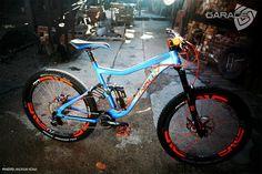 Knolly Warden - Orange Crush - The Garage's Bike Check - Vital MTB