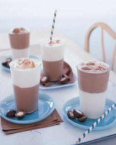 menu: choc vanilla shake