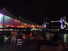 Riverside pop up London Pop Up London, Festival Lights, Outdoor Events, Alternative, Fair Grounds, Lighting, Fun, Travel, Viajes
