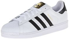 promo code 55476 95792 adidas Originals Men s Superstar Casual Sneaker, White Core Black White, 9  M US  Full grain leather upper Rubber shell toe Synthetic leather lining ...