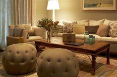 #living-room, #ottoman, #pouf  Interior Design: Kishani Perera - kishaniperera.com Photography: Jean Randazzo - jeanrandazzo.com/  Read More: http://www.stylemepretty.com/living/2013/08/06/living-room-design-from-kishani-perera/