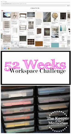 Welcome to week two of the 52 Weeks to an Organized Workspace challenge. We survived week one, y'all! Go ahead and give each other a virtual high-five. You totally deserve it!