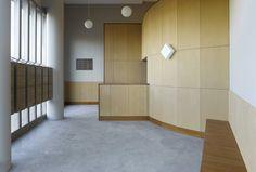 Lobby interior, Amsterdam - Hans van der Heijden Architect