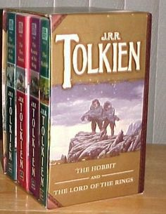 J.R.R. Tolkien Boxed Set (The Hobbit and The Lord of the Rings): J.R.R. Tolkien: 9780345340429: Amazon.com: Books
