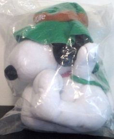 """NEW Snoopy Plush Toy Hiking METLIFE Peanuts United Feature Syndicate 12"""" #Peanuts"""