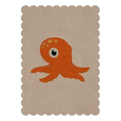 Octopus Invitations & Announcements | Zazzle.com.au