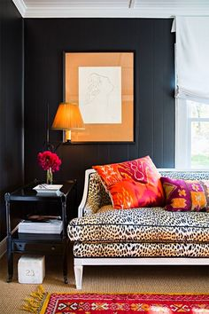 leopard sofa