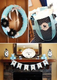 tiffany and company baby shower | Glamorous Breakfast at Tiffany's Baby Shower // Hostess with the ...