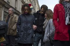 Paris in Mourning - France observed a moment of silence at noon on Monday in honor - The New York Times