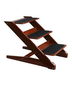 This Etna Products Modern Folding Wooden Pet Steps by Etna Products is perfect! #zulilyfinds