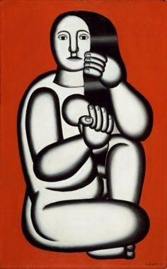 This painting made by Fernand Leger made me realize a human body doesn't have to be anatomicly correct and therefor is a great inspiration for my book.