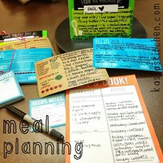 Healthy meal planning ideas on a budget!  #healthy #meals