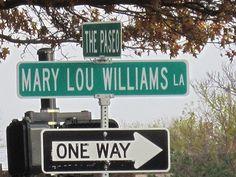 Mary Lou Williams Lane in Kansas City