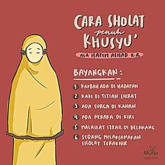 Tips agar sholat khusyu' Hijrah Islam, Doa Islam, Quran Quotes Inspirational, Islamic Love Quotes, Hadith Quotes, Muslim Quotes, Reminder Quotes, Self Reminder, Moslem