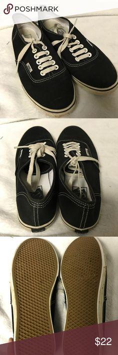 Black vans Great condition black vans! Please make an offer! Vans Shoes Sneakers