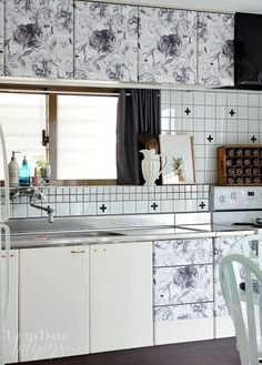 26 best contact paper on countertops images kitchen ideas rh pinterest com