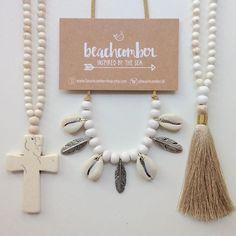 beachcomber etsy shop white bohemian necklaces jewellery jewelry tassel necklaces shell jewellery shell jewelry gypsy mermaid