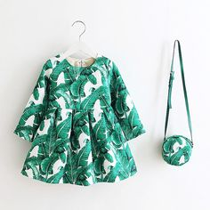 Palm Springs Tea Dress with Cross Body Purse