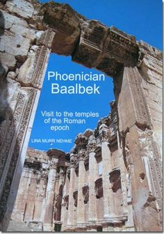 books of baal temples | Book Lina Murr Nehme, Phoenician Baalbek graffito, sanctuary of Baal ...