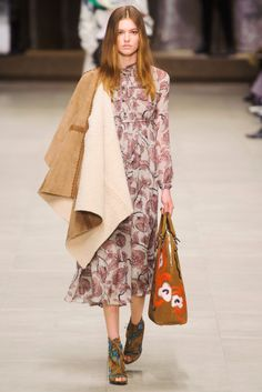 Fall 2014 RTW Burberry Prorsum Collection