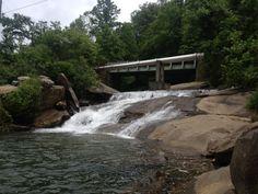 Forbidden swim hole near Black Mountain NC 6/5/13