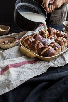 Hot Cross Bun And Nutmeg Tray Bake - Cook Republic