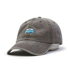 888d5f39db3 Unstructured Soft Crown Low-Fitting 6 Panel Cap Seamed Front Panel without  Buckram 6 Embroidered Eyelets and 6 Rows Stitching on Visor Adjustable  Velcro ...