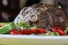 Burp!: Rosemary Garlic Leg of Lamb