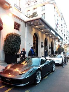 Ferrari 458 Italia & Bugatti Veyron