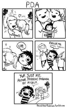 Sarah See Andersen is amazing and I love her.