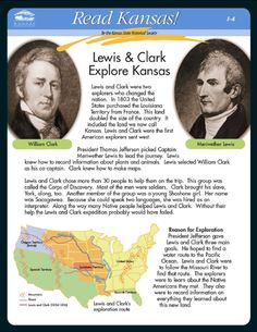 Nice free 2 page .pdf download on Lewis and Clark  #lewisandclark #homeschool
