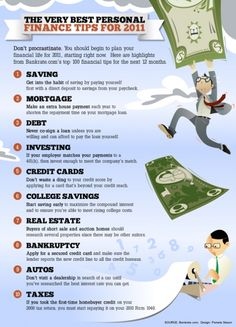 Great personal finance tips!