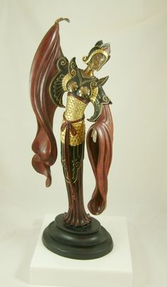 Erte Bronze Sculpture