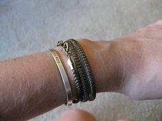 Thanks, I Made It : Zip-a-dee do dah: DIY Zipper Wrap Bracelet