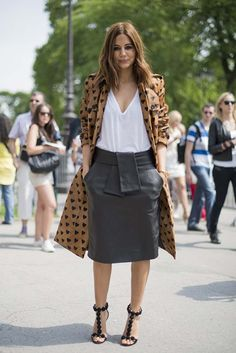Love the skirt! Street style at the couture shows in Paris gallery