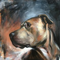 Video Cute is Not Enough - Funny Cats and Dogs Compilation - Animal Paintings, Animal Drawings, Art Drawings, Cat Dog, Wildlife Art, Dog Portraits, Dog Art, Pitbulls, Canvas Art