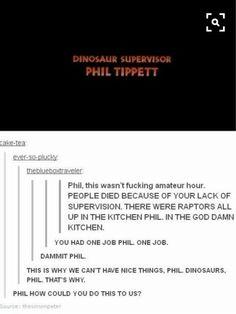 one job, Phil, you had one job.