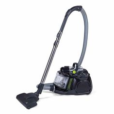Electrolux Black Silent Performer Cyclonic Bag less Canister Vacuum includes cleaning tools with crevice tool washable HEPA filter and Clean Air Filtration Best Canister Vacuum, Carpet Cleaner Vacuum, Carpet Cleaners, Vacuum Cleaners, Vacuum Reviews, Best Vacuum, Hepa Filter