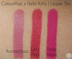ColourPop x Hello Kitty - Lippie Stix | Kat Stays Polished @ColourPopCo