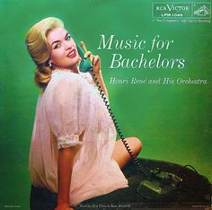 Purchaser this original vinyl pressing of Music For Bachelors, an easy listening album well known for the cover featuring blonde bombshell Jayne Mansfield. Browse our selection of other jazz albums on vinyl at Voluptuous Vinyl Records! Cover Art, Lp Cover, Vinyl Cover, Lps For Sale, Easy Listening Music, Janes Mansfield, Pochette Album, Vogue, Vintage Records