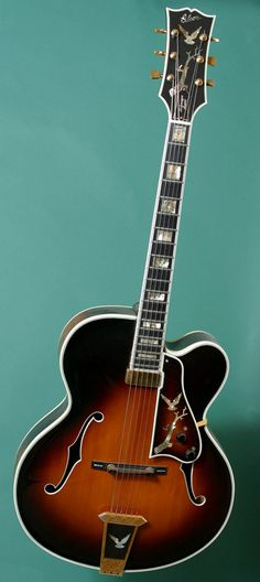 """1978 Gibson Kalamazoo.  Gibsons were made in Kalamazoo until the late 1980's.  In CCR's """"Down on the Corner"""" they mention this guitar."""