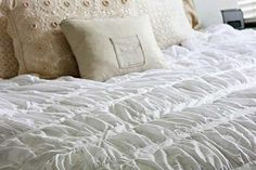 Ruffled Duvet Sewing Tutorial Inspired by Anthropologie