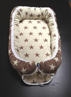 Babynest i stjärntyg | Tutorial på svenska | Handcraft by Grip #babynest #babybädd