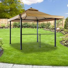 Exterior Fabulous 10x10 Gazebo Replacement Canopy Famous Maker Everton 10x10 Gazebo Essential Garden Ridgeway 10x10 Wicker Gazebo Perfect Home Essu2026 ... & Exterior: Fabulous 10x10 Gazebo Replacement Canopy Famous Maker ...