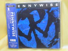 CD/Japan- PENNYWISE s/t (self-titled) w/OBI RARE EARLY 1995 ESCA-6116 #PunkRockPunkPop
