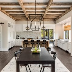 Shop for Grayling Black Outdoor/Indoor Pendant by Havenside Home. Get free delivery On EVERYTHING* Overstock - Your Online Ceiling Lighting Store! Fixer Upper, Rustic Kitchen, Kitchen Decor, Farmhouse Kitchens, Rustic Farmhouse, Farmhouse Style, Cozy Couch, Oak Laminate Flooring, Luz Led