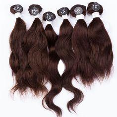 """EVET Indian Virgin Hair Extensions Indian Wave 7A Grade Unprocessed Virgin Hair 6pcs 2x10""""2x12""""2x14"""" 200g/Set Human Hair Weaving"""