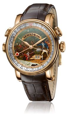 """Arnold & Son Hornet James Cook Set """"The Death in Hawaii"""" watch"""